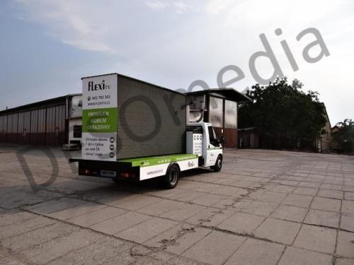 Mobile Bildschirmwerbung Pardubice