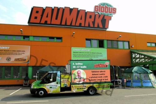 Mobile ad - mobile billboard