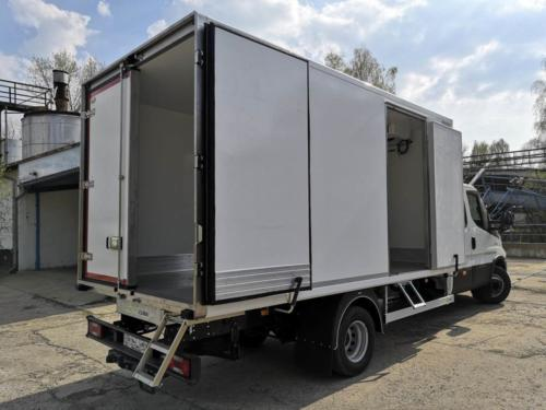 Iveco Daily Vehicle installation Motoclima