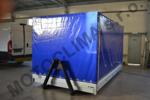 Stretch containers Motoclima