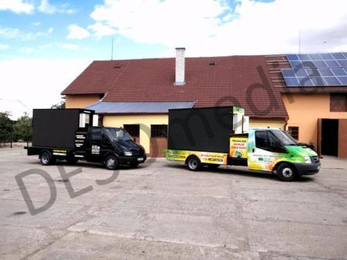 custom-made mobile billboards Motoclima