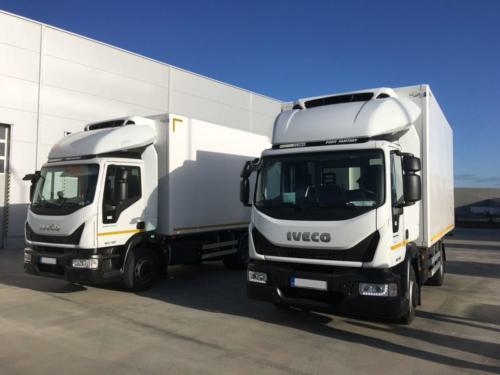Cooled superstructures Iveco Eurocargo