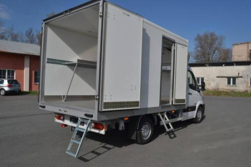 Cooled superstructures - Hyundai H350