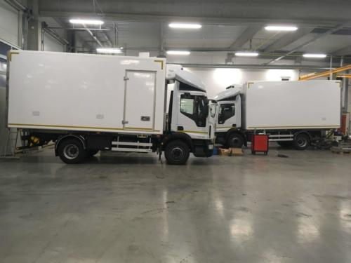 Cooled superstructures IVECO