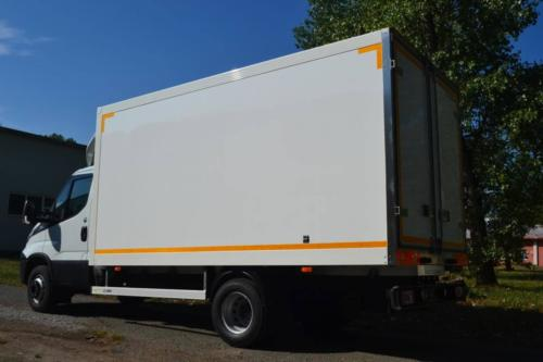 Dust-proof box body Iveco