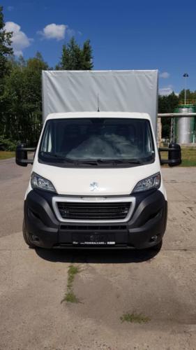 Valnik nastavba Peugeot